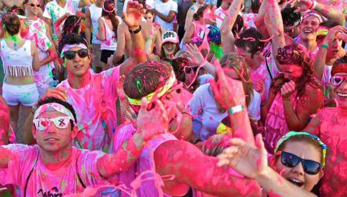 "Dayglow, The World's Largest Paint Party, Changes Name To ""Life In Color"""