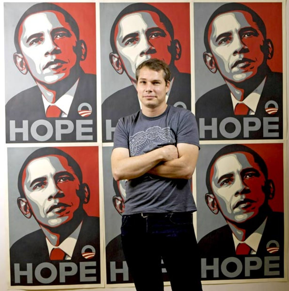 "Art Beat Up: A Statement By Shepard Fairey Regarding The Obama ""Hope"" Campaign Poster"