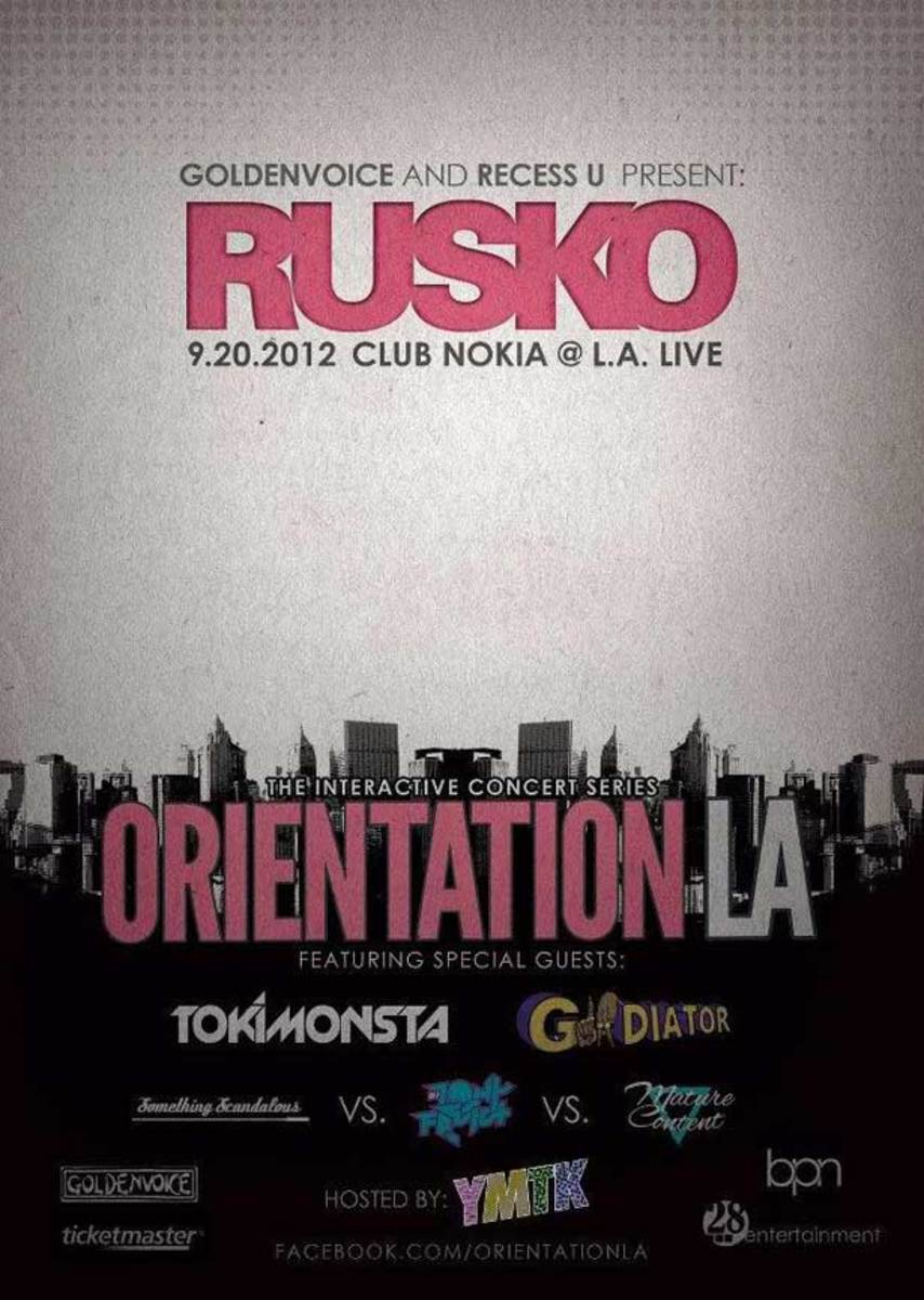 Hey Los Angeles: Win A Pair Of Tickets To See Rusko On September 20 with TOKiMONSTA