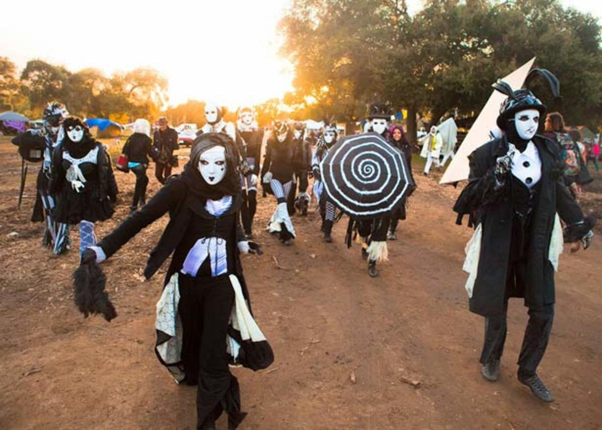 halloween: lunacy music and arts festival in santa barbara here we