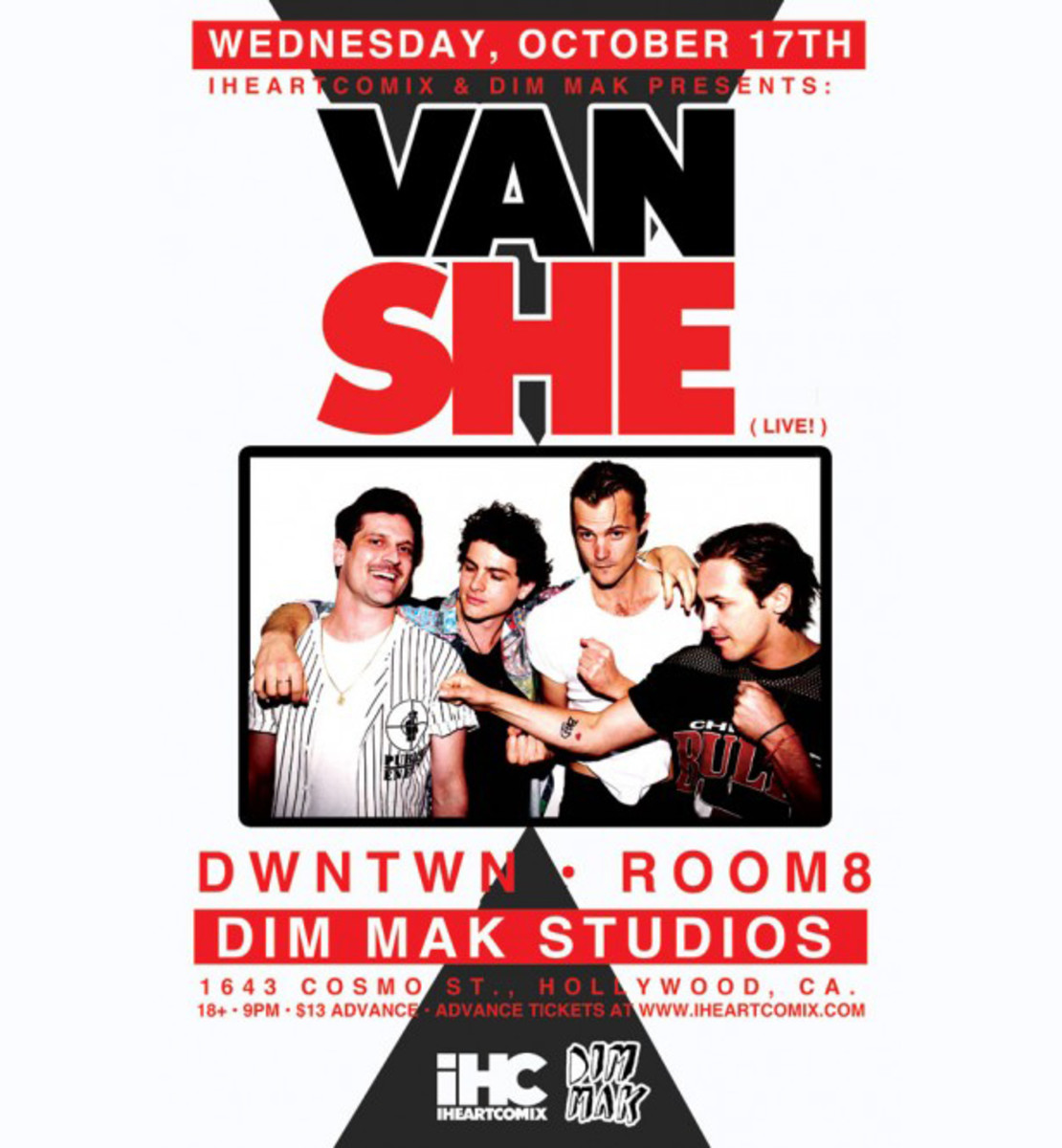 Ticket Contest: Van She at Dim Mak Studios On Wednesday