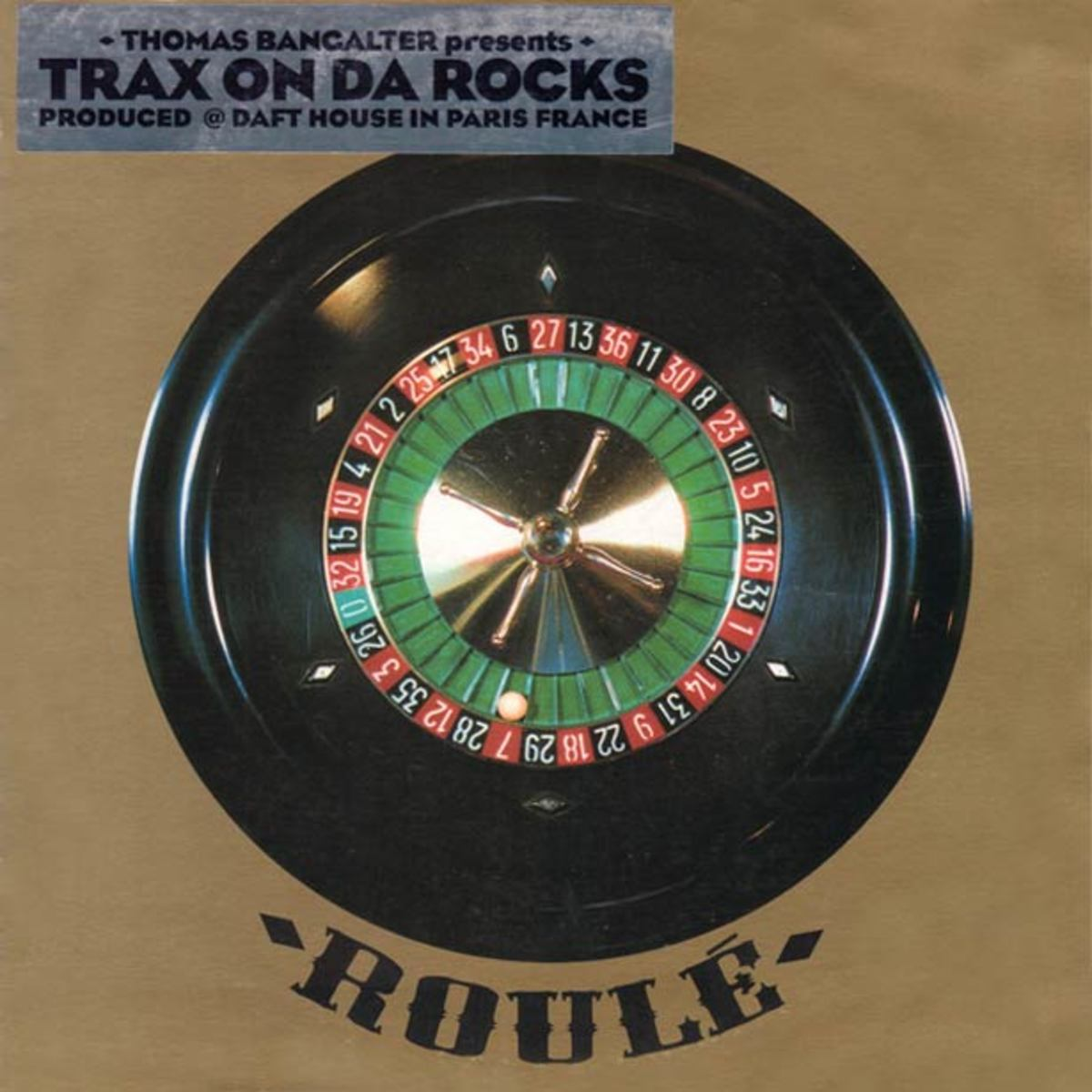 "Thomas Bangalter of Daft Punk Fame Re-Issuing His Solo EP ""Trax On Da Rocks"" via Roule"