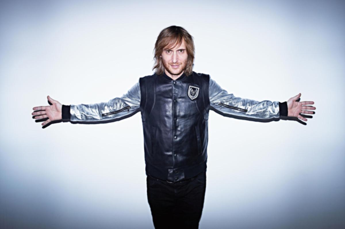 David Guetta Wins Best Electronic Act At The 2012 MTV European Music Awards