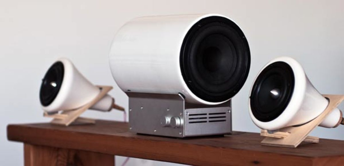 Want: Joey Roth Ceramic Subwoofer