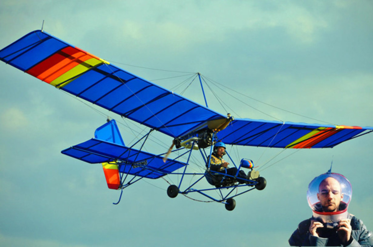 Moby To Fly Around the World In A Solar Powered Ultralight Aircraft