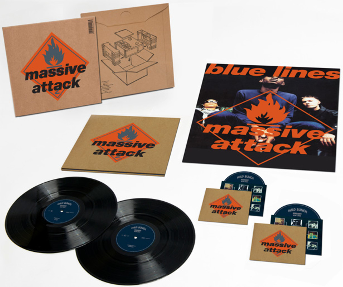 Contest: Win A Copy Of Massive Attack's Blue Line's Remix/Remaster Box Set