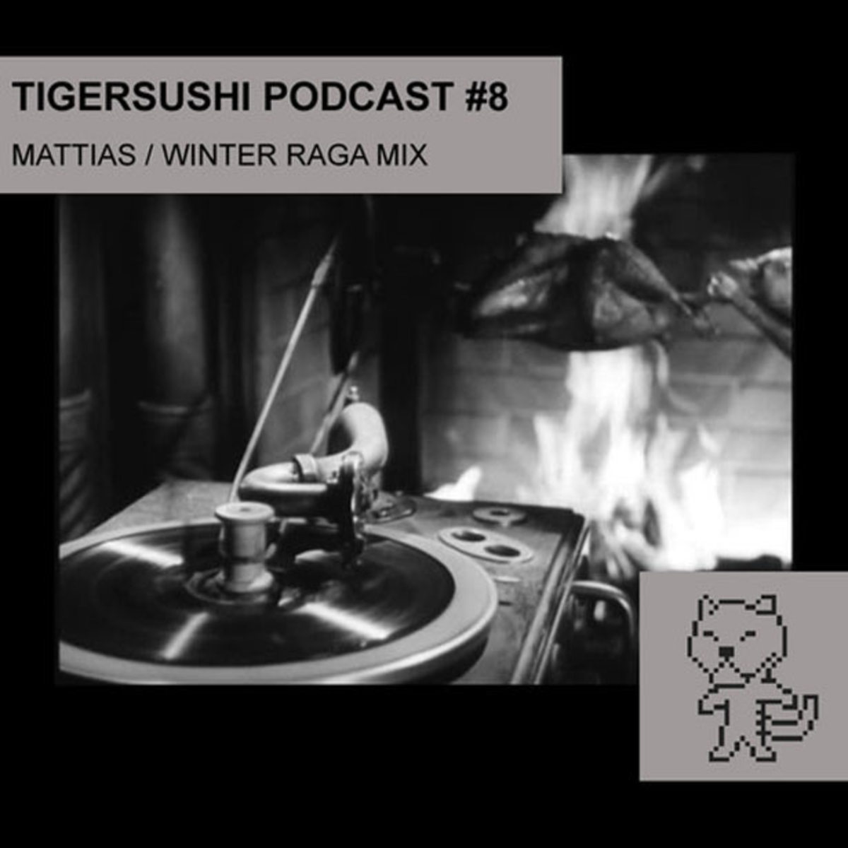 "Free Download: Tigersushi Podcast #8 ""Winter Raga Mix"" by Mattias Bouaziz"