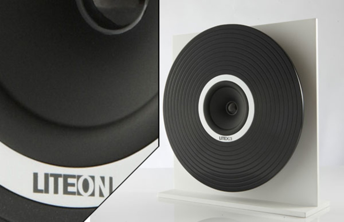 Concept: Vinyl Album Amplifier Goes Cone-Shaped With NFC Technology