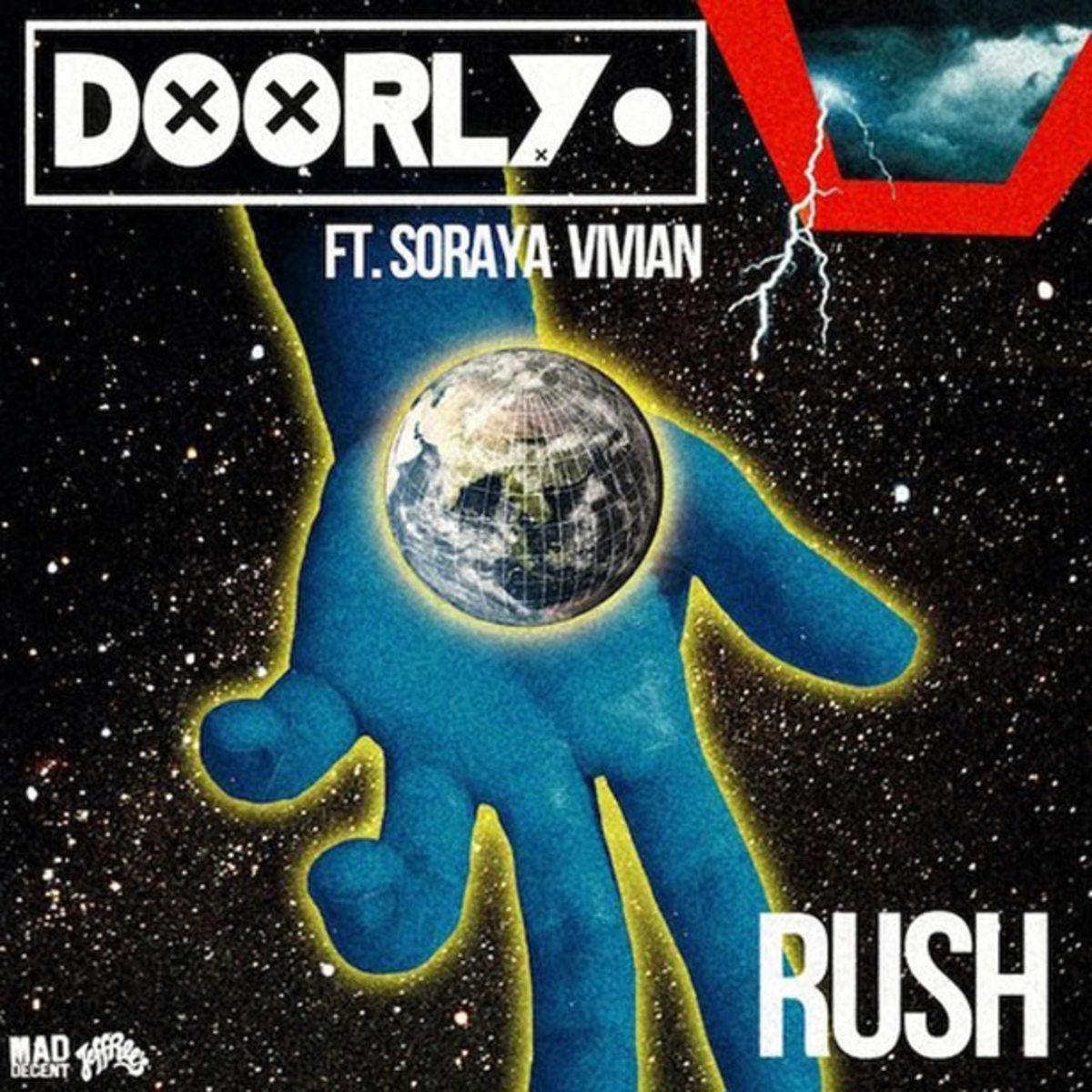 """Free Download: Doorly Featuring Soraya Vivian """"Rush"""" DJ Yoda Remix"""