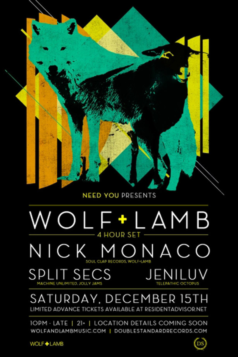 Ticket Contest: Wolf+Lamb Hit LA Saturday, December 15