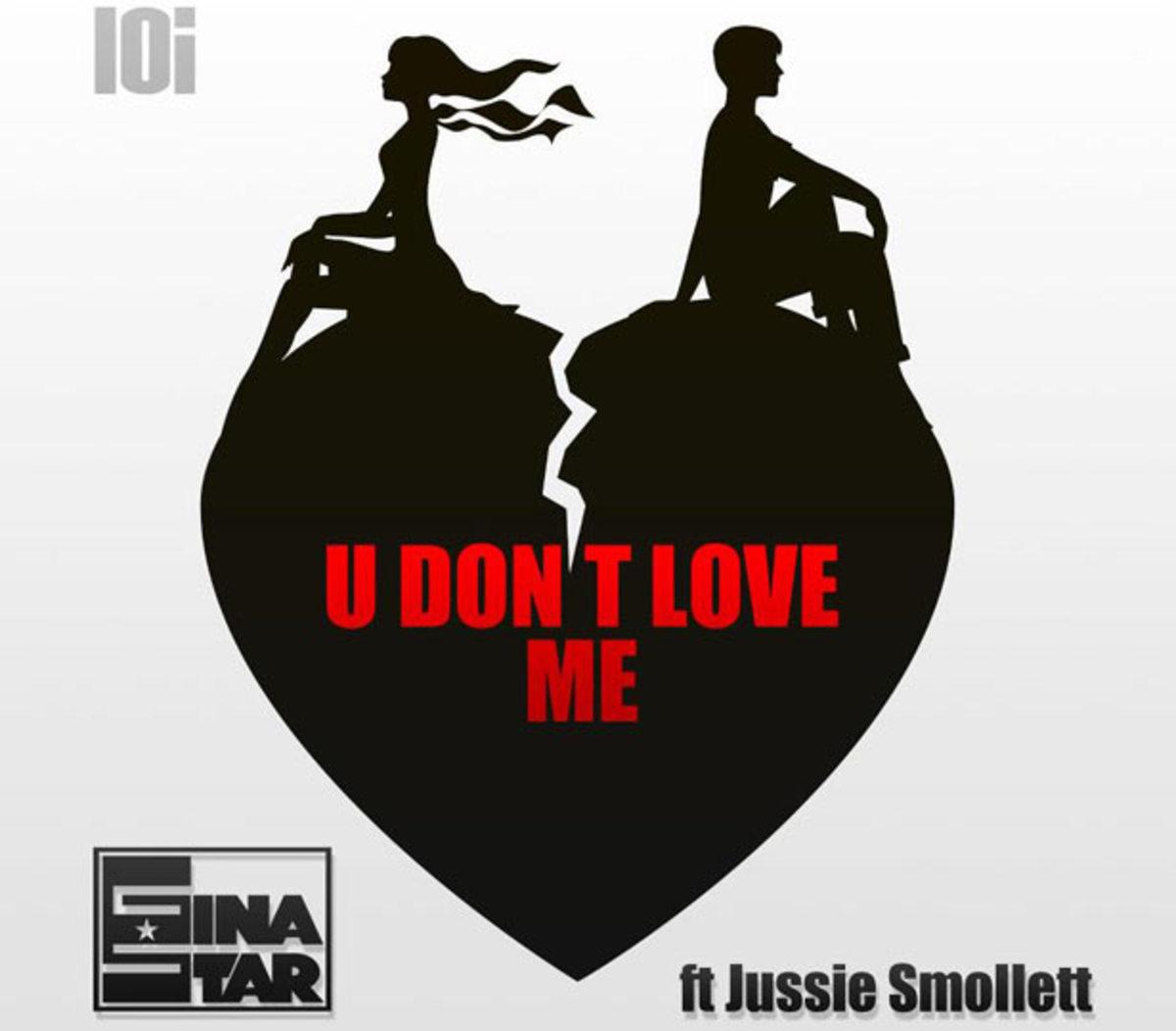 """Stream: Gina Star featuring Jussie Smollett """"U Don't Love Me"""""""