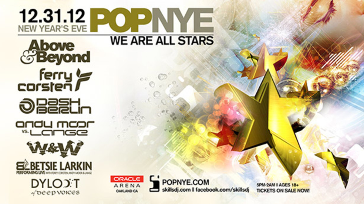 POPNYE with Above & Beyond, Ferry Corsten, Dash Berlin and W&W