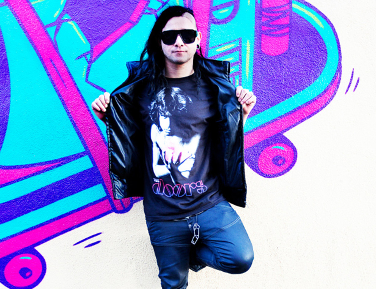 "Skrillex releases 3-Track EP via Owsla's New subscription Service, ""The Nest"""