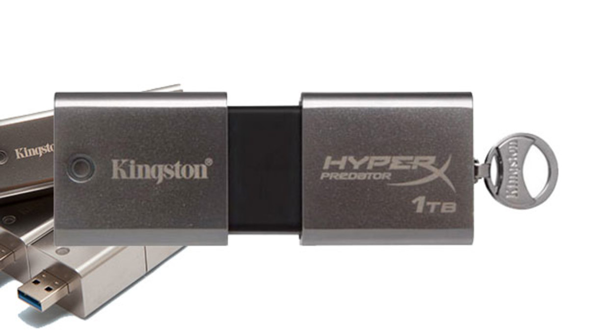 Want: DataTraveler HyperX Predator 1 TB Flash Drive by Kingston—Hey DJs...