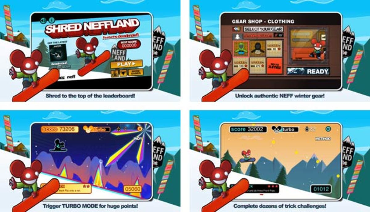 EDM Culture Everywhere: Shred Neffland featuring Deadmau5—Get Your App On