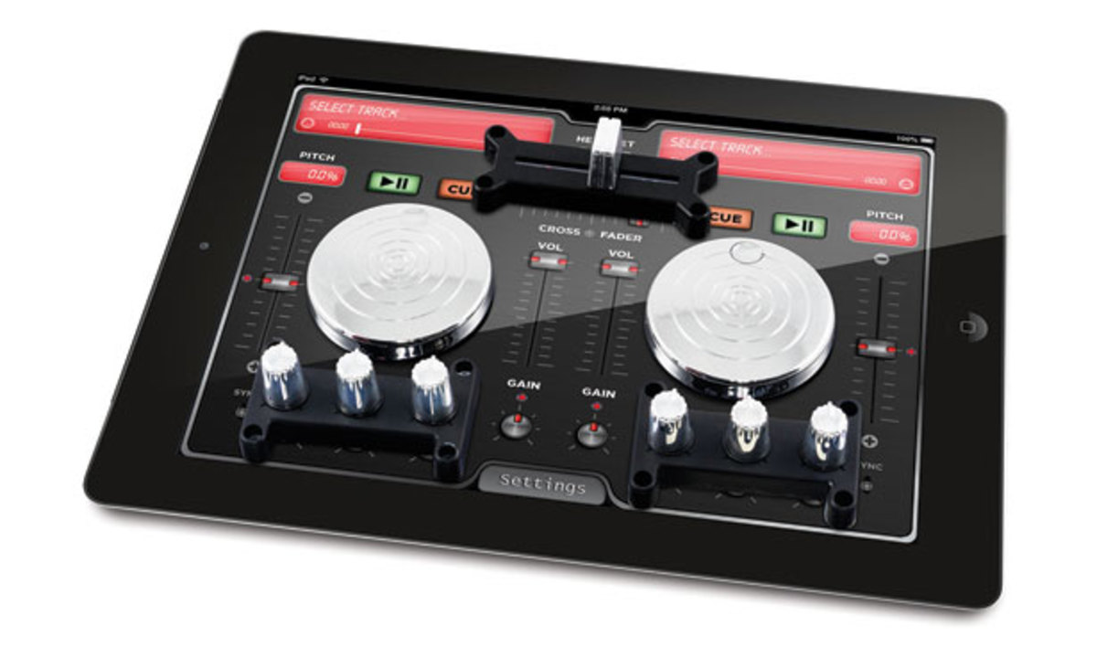 Want: Scratch 2 Go DJ System for iPad by Ion Audio