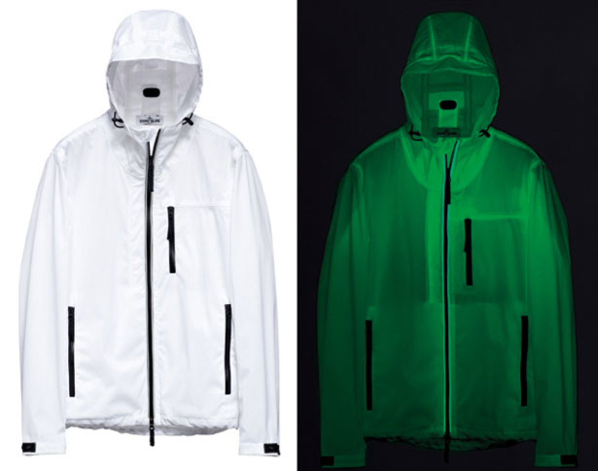 Want: Stone Island SS 013 Night Glow Jacket Marina