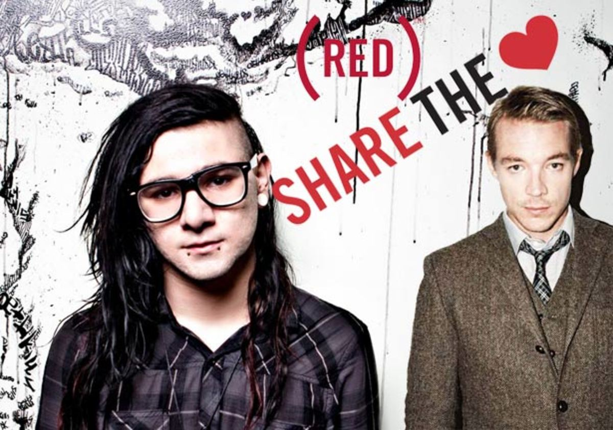 "Charity Ticket Auction: Skrillex, Diplo, Kaskade, Nero and Tommy Trash To Play ""Dance (Red), Save Lives"" Pre-Grammy Party This Friday"