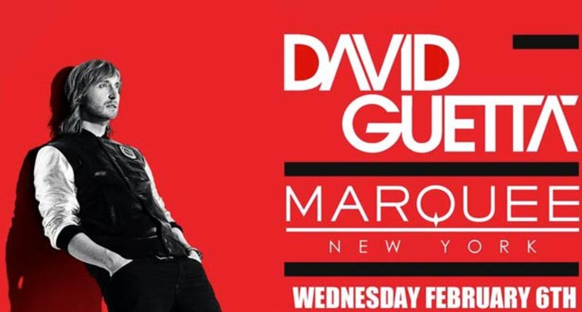 Event Preview: Marquee NYC Set To Host David Guetta, Danny Howells, and Rony Seikaly This Week