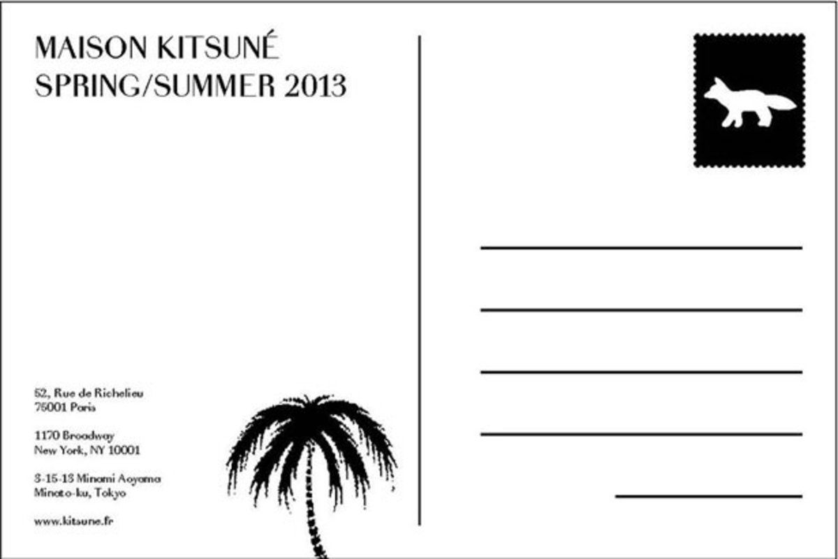 Maison Kitsuné Spring/Summer 2013 Lookbook