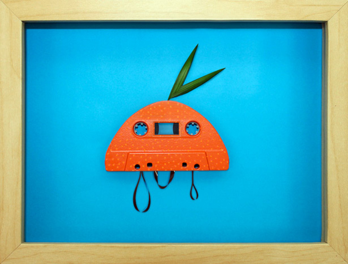 Paris Based Artist Benoit Jammes Has Some Nostalgia For Cassette Tapes