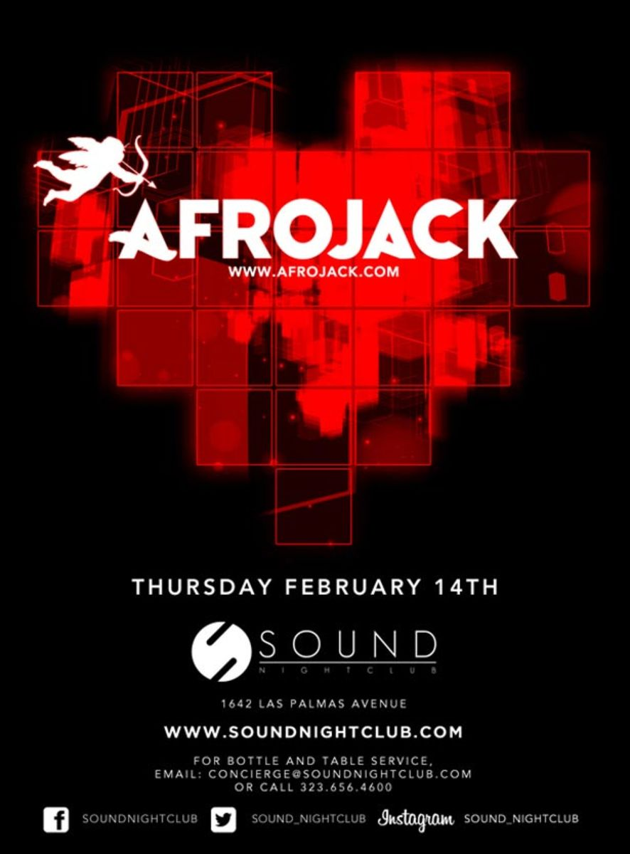 Ticket Contest: Celebrate Valentine's Day with Afrojack at Sound in Los Angeles