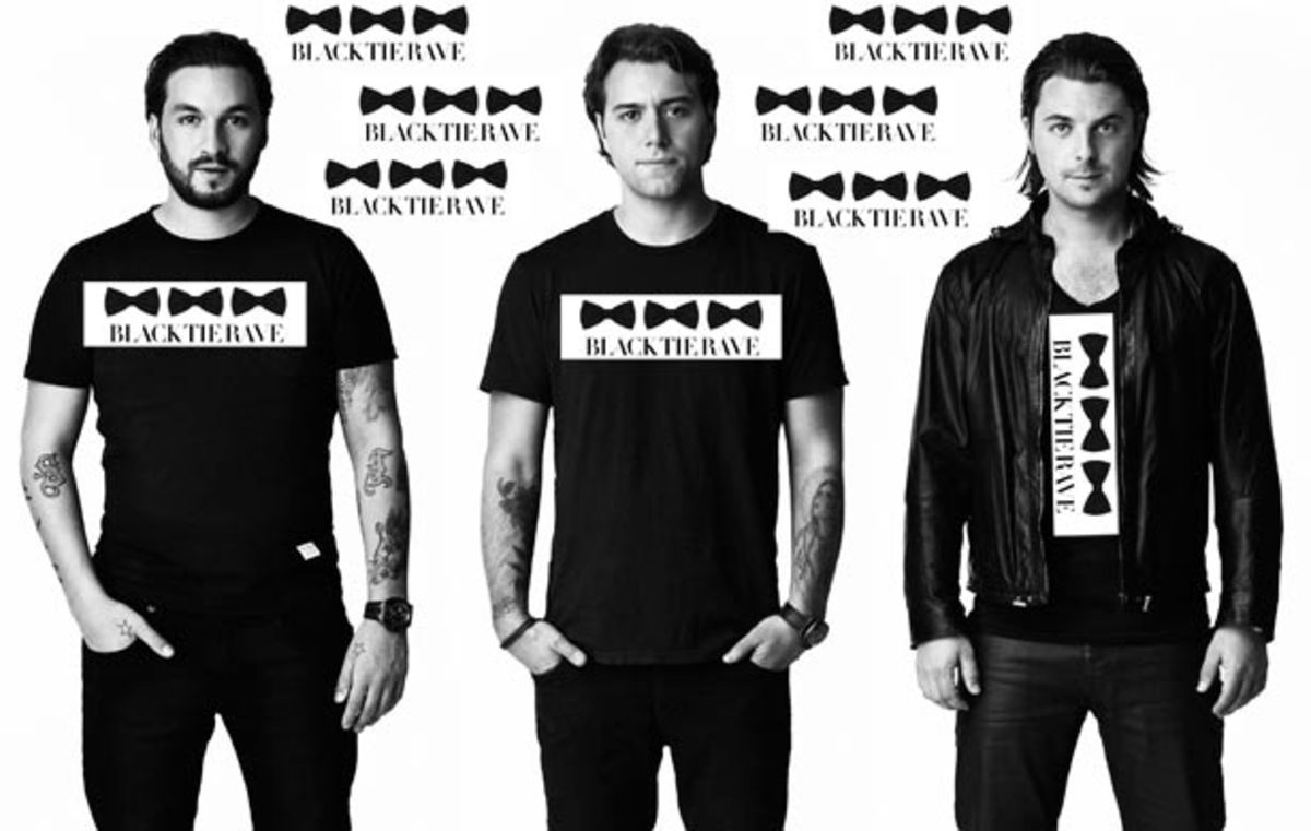 Swedish House Mafia Dons Black Tie as White Knights for Charity—Get Your Rave On