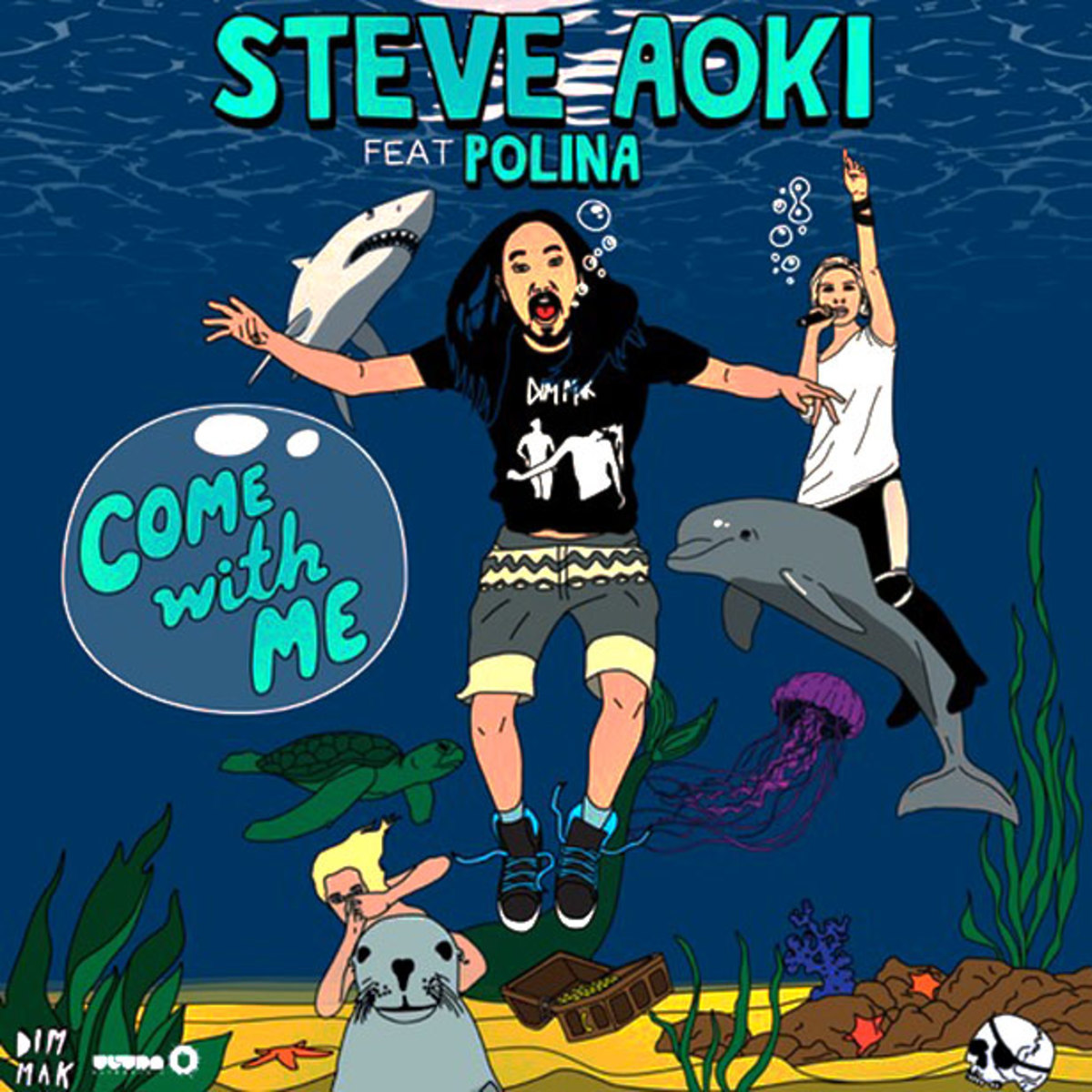 "Listen: Steve Aoki featuring Polina ""Come With Me"" Deorro Remix"