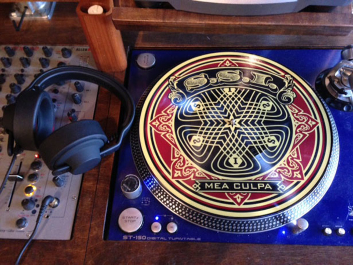 S.S.I. x Obey Picture Disk—Electronic Music Meets Street
