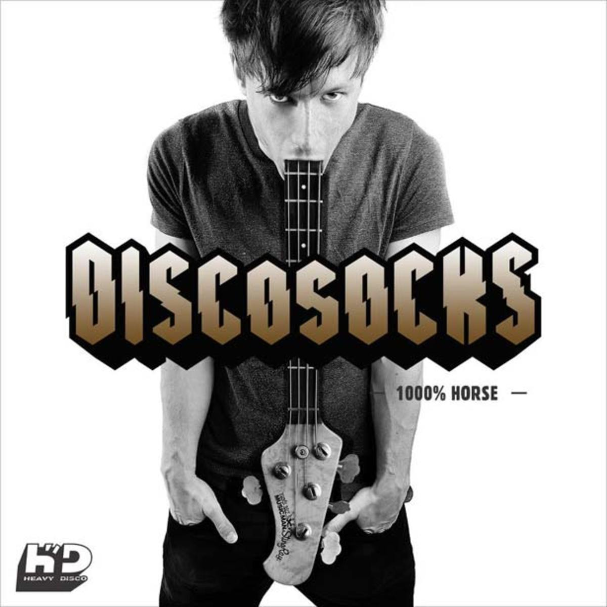 "Free Download: DiscoSocks ""1000% Horse"" via Heavy Disco"