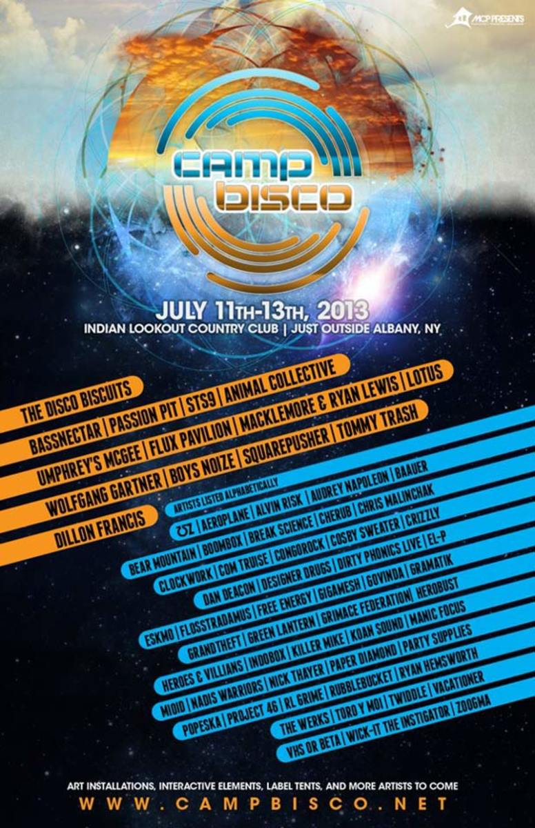 Camp Bisco Lineup Announced