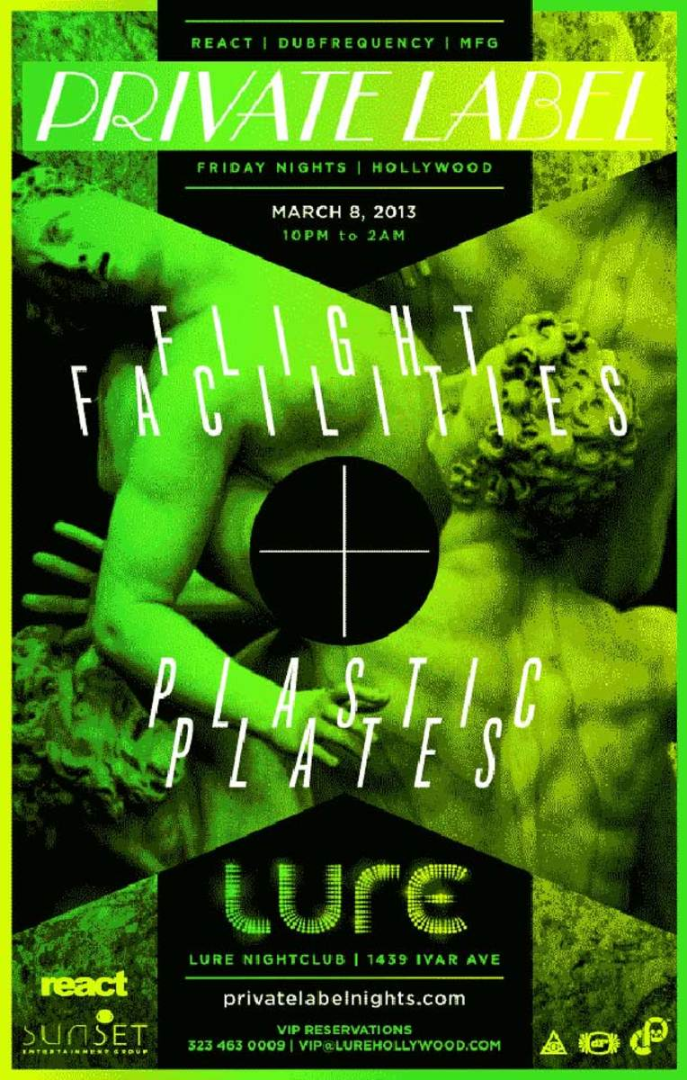 Los Angeles Event: Flight Facilities & Plastic Plates This Friday at Lure—Win Tickets
