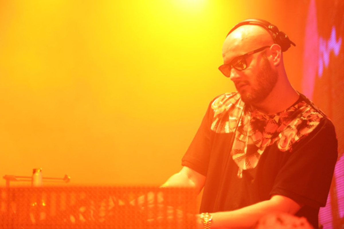 Some Words With Crookers, aka Phra, Before His Control set at Avalon in Hollywood
