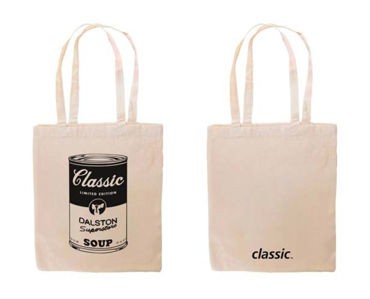 The Classic Music Company x Dalston Superstore Limited Edition Tote Bag