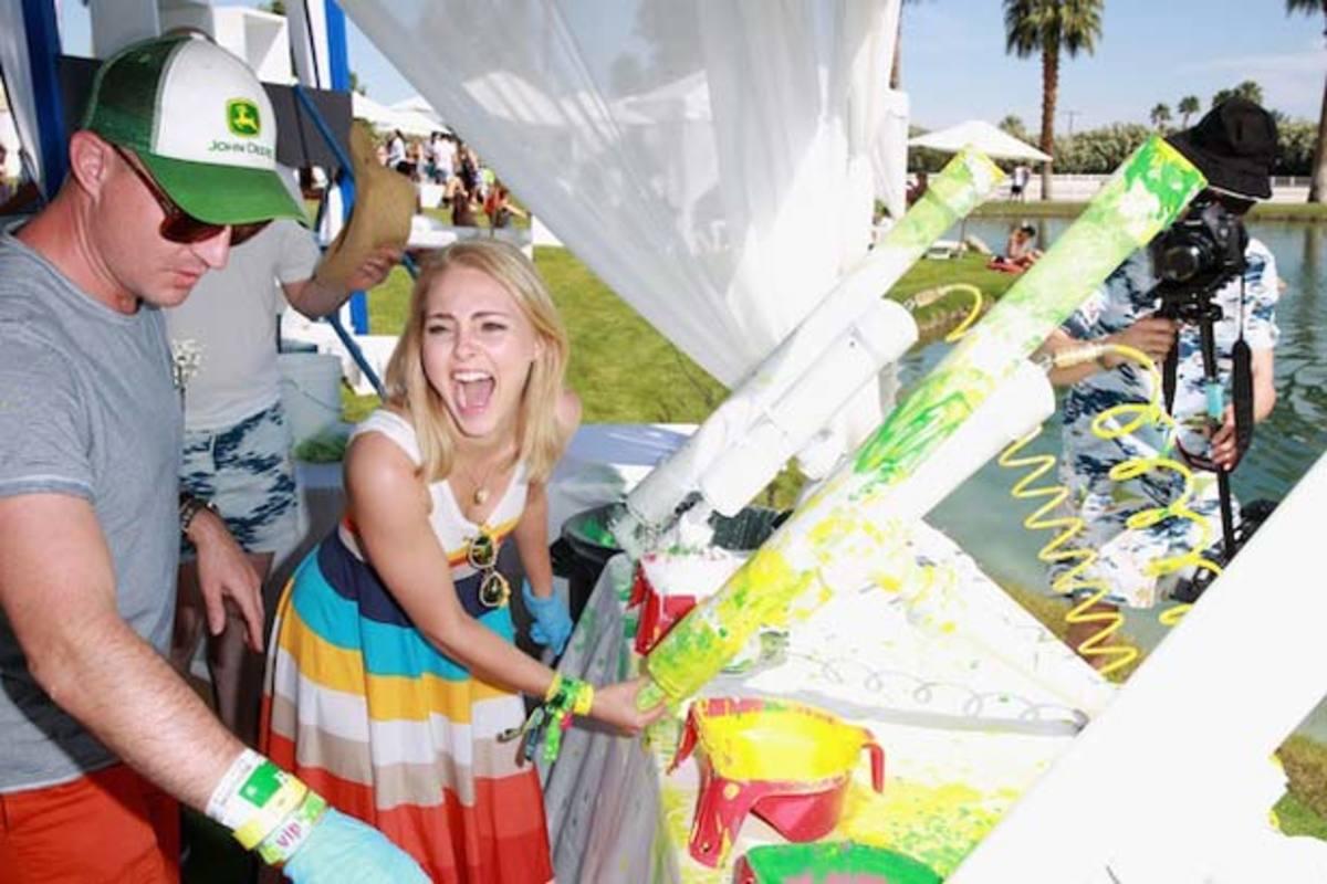 Event Recap: Lacoste Live Desert Pool Party—Fauxchella Fun