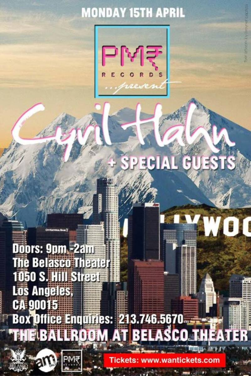 Ticket Giveaway: Cyril Hahn Hits Los Angeles On Monday