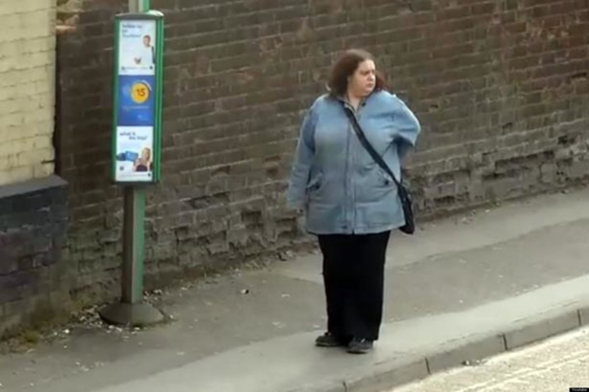 Video of the Day: The Dancing Queen Of The Bus Stop‬—You Go Girl
