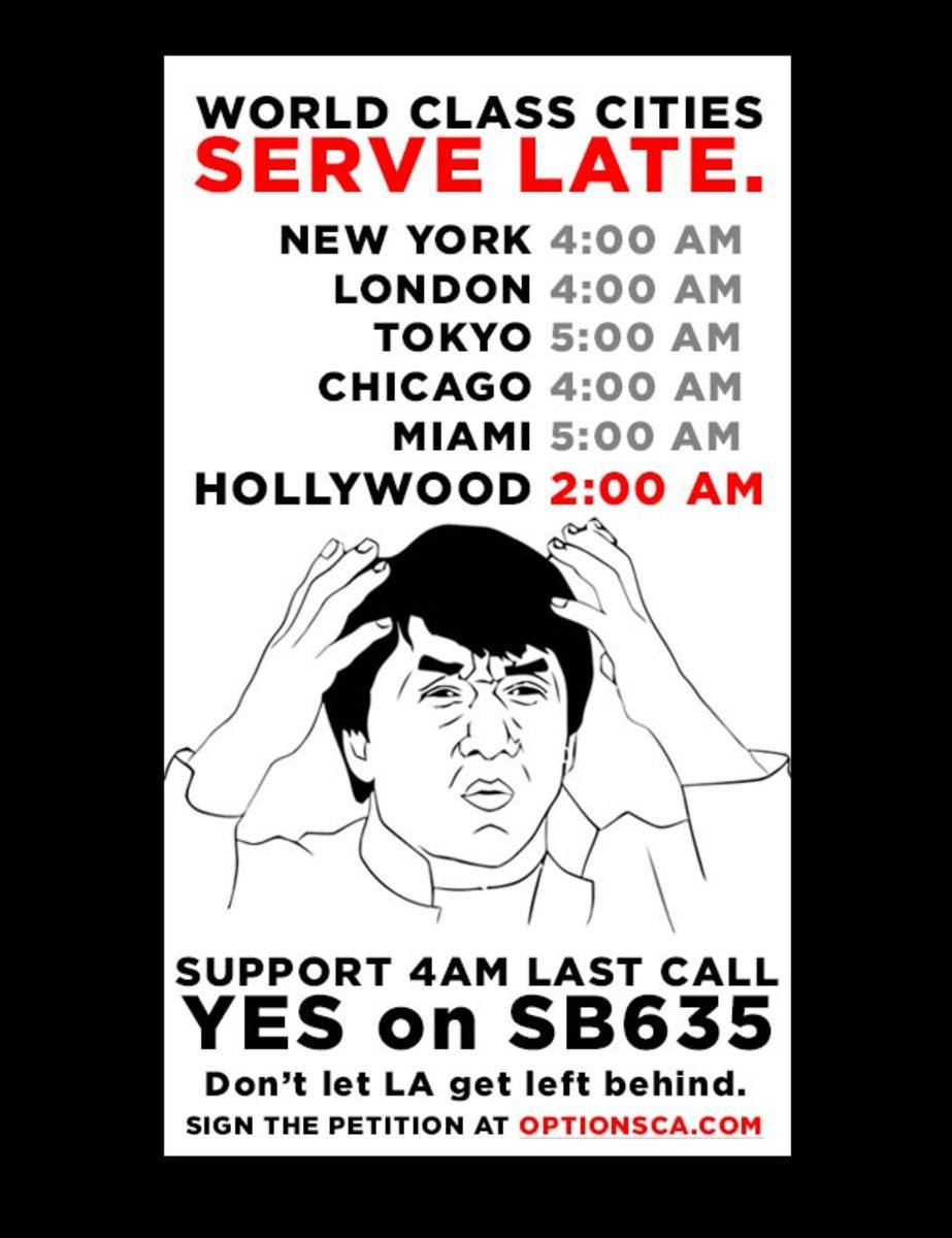 Hey Los Angeles…Vote Yes On SB 635