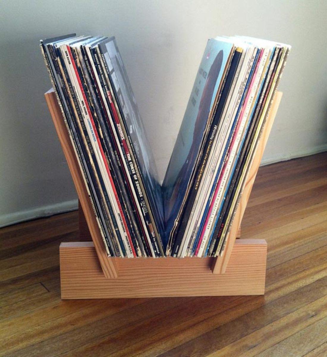 LP Record Rack