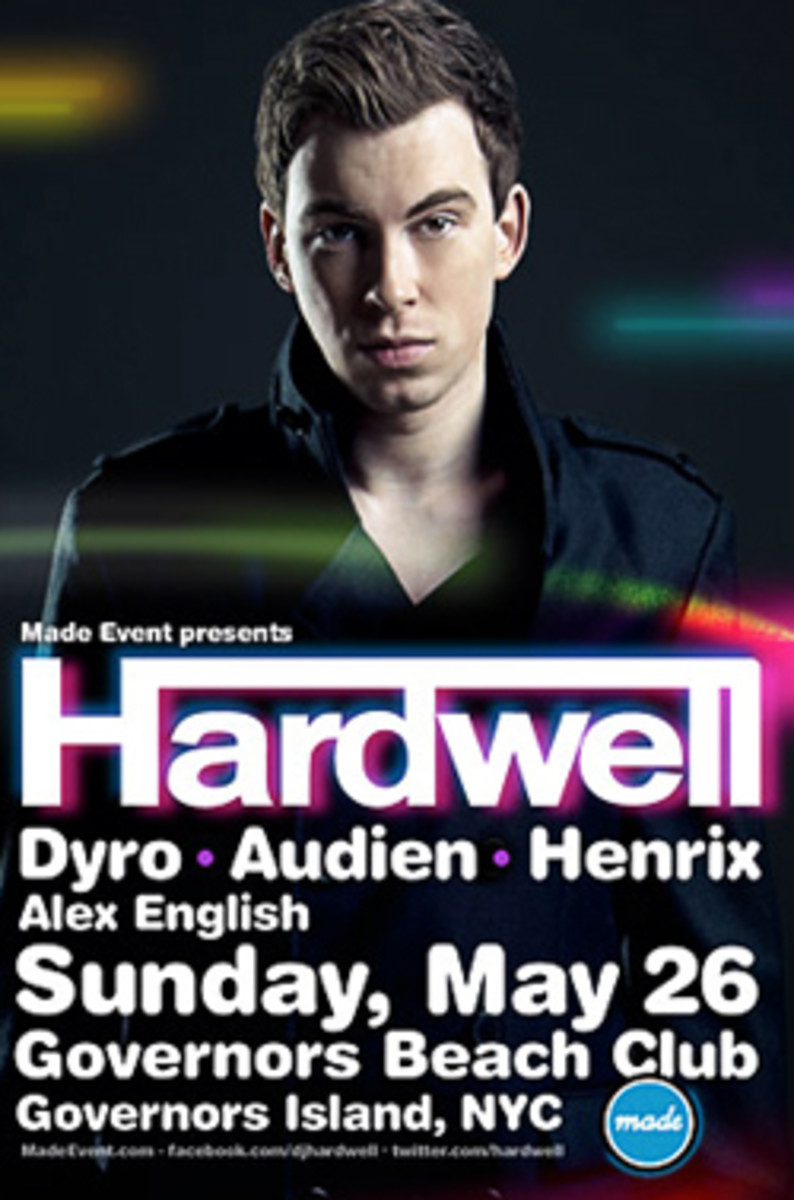 Hey New Yorkers, Governors Beach Club is Back! Hardwell on Deck