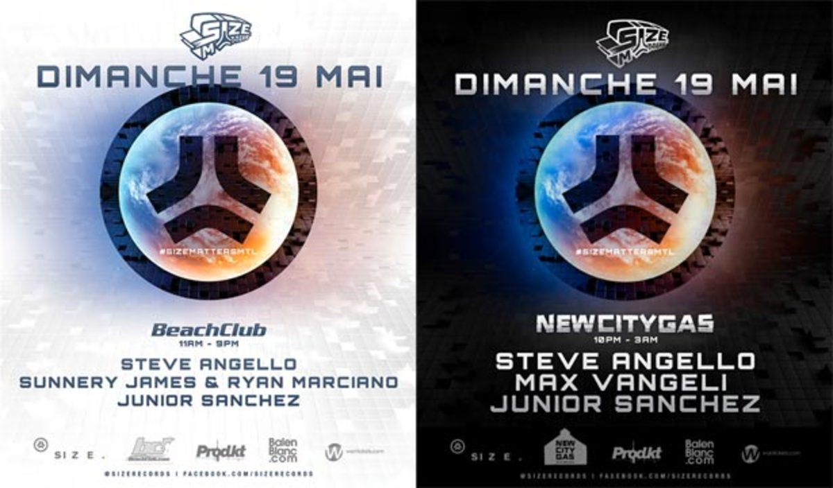 Ticket Giveaway: Produkt Presents Size Matters Day & Night with Steve Angello, Sunnery James & Ryan Marciano, Junior Sanchez and Max Vangeli