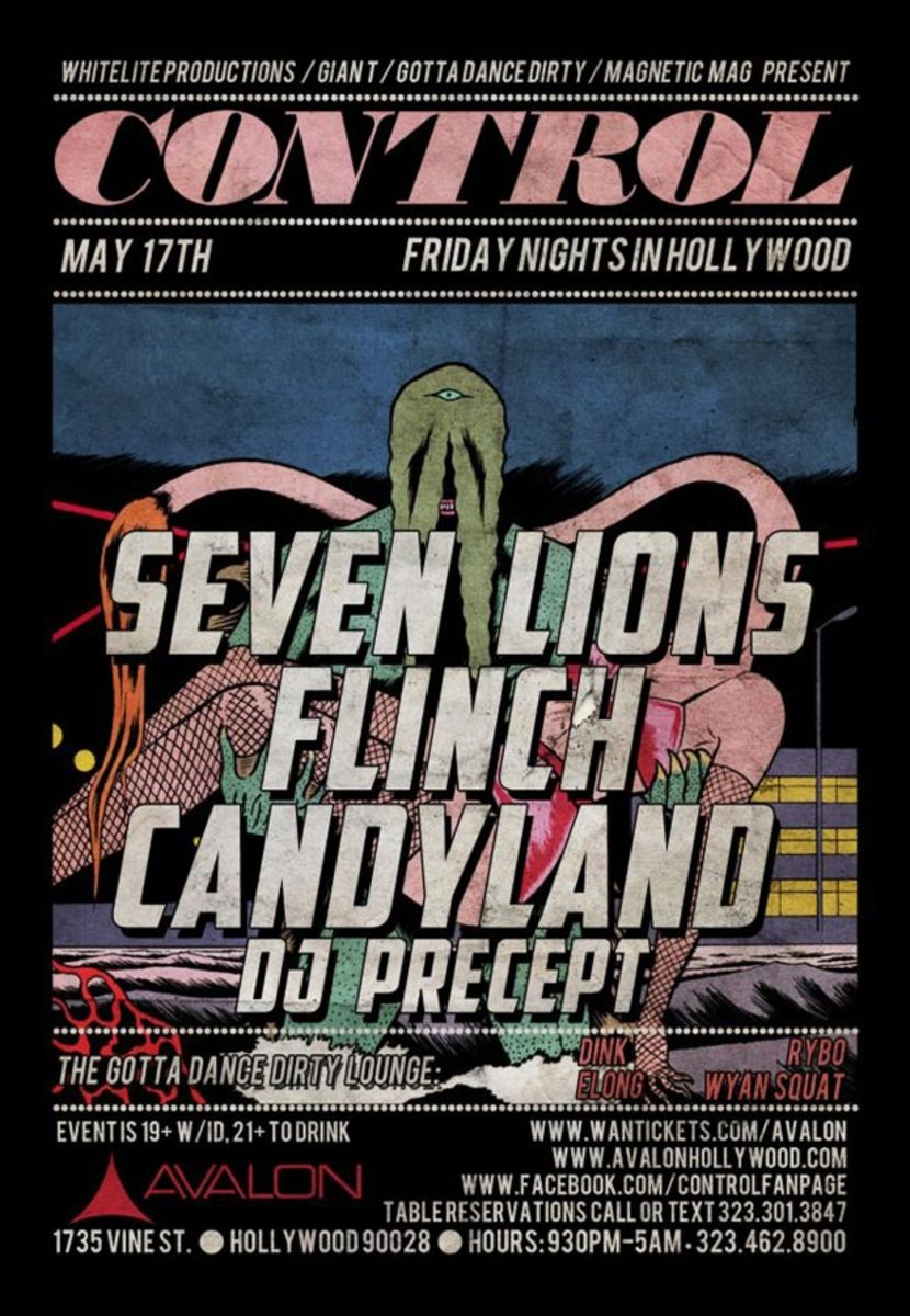 Ticket Contest: Seven Lions at Control in Hollywood plus Flinch, Candyland and DJ Precept
