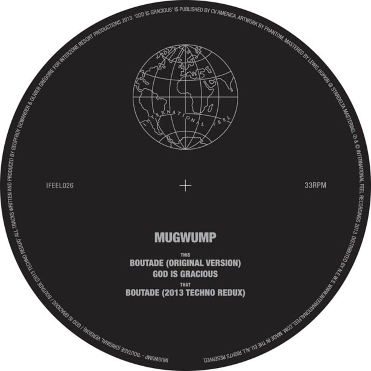 "Review: Mugwump ""Boutade"" via International Feel—File Under Essential Techno"