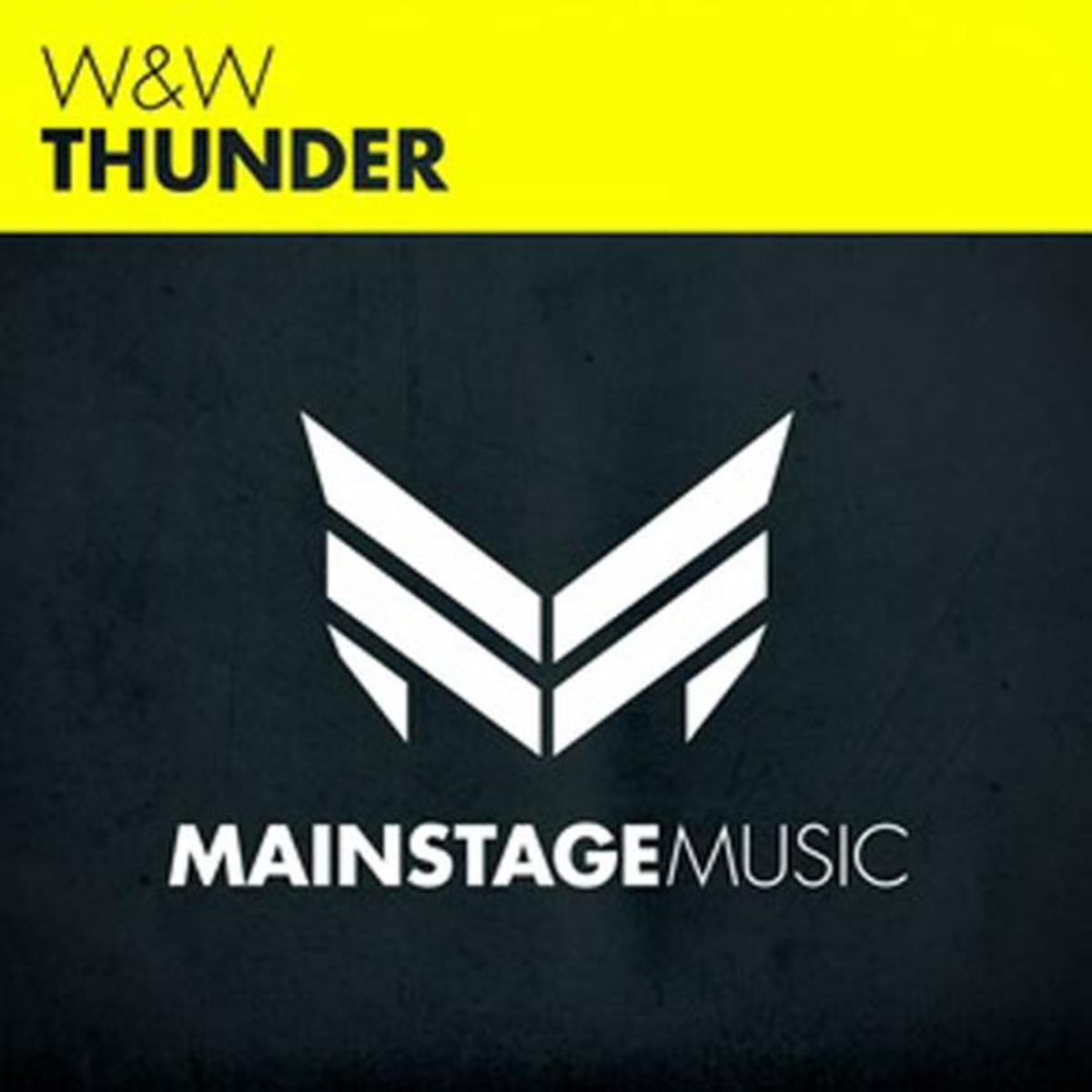 "EDM News: W&W ""Thunder"" out today on Mainstage Music"