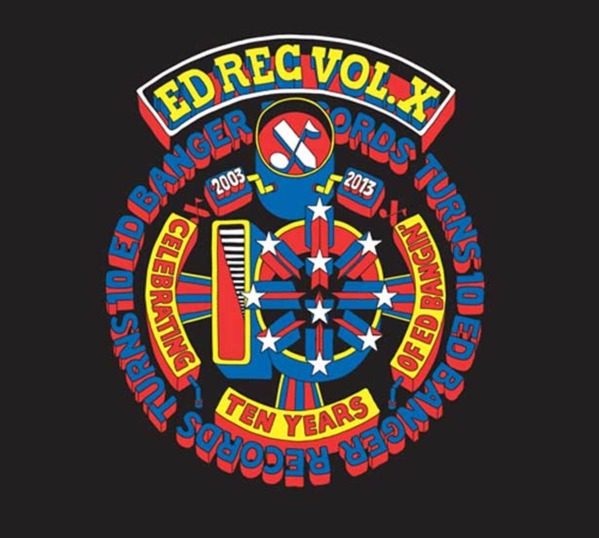 "EDM News - Ed Banger's ""Ed Rec Volume X"" Out Today Featuring Justice, Busy P, Cassius And More"