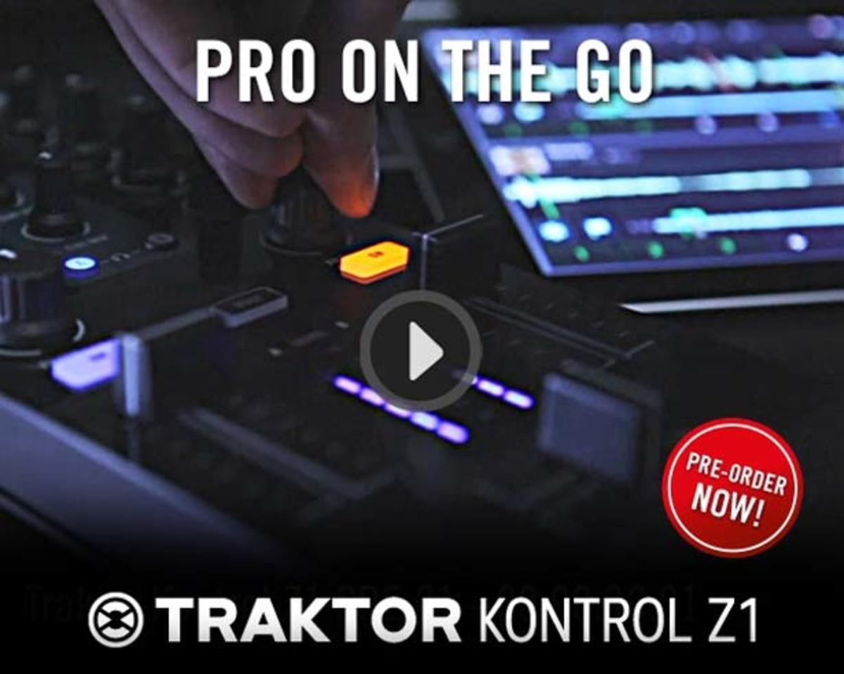 EDM News - Native Instruments Announces The Traktor Control Z1
