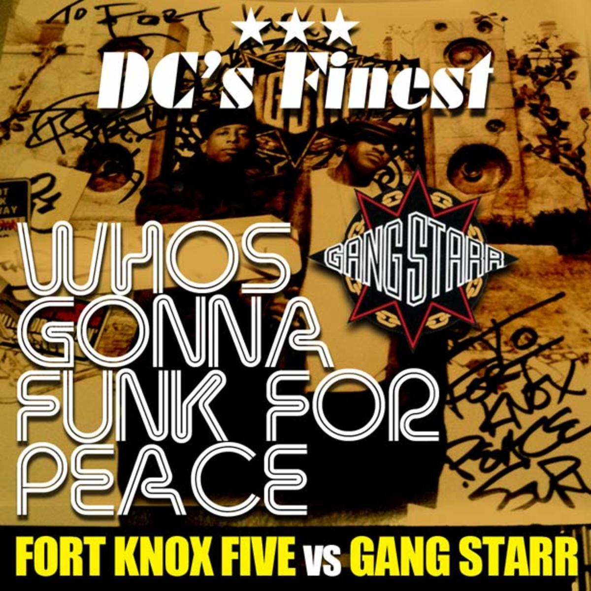 EDM Download: Fort Knox Five vs. Gang Starr Bootleg Mix - File Under Funky Breakbeat
