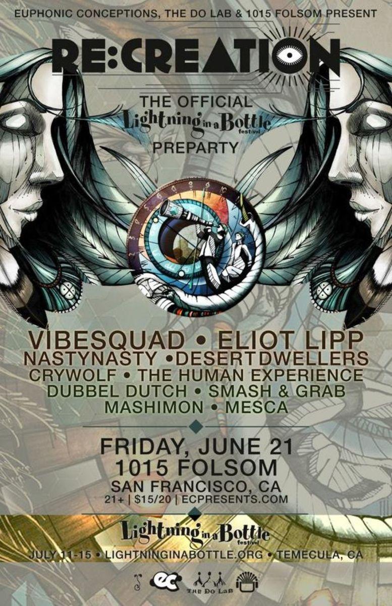 EDM Event- Lightning Strikes Twice As California EDM Fans Prepare For The Lightning In A Bottle Festival