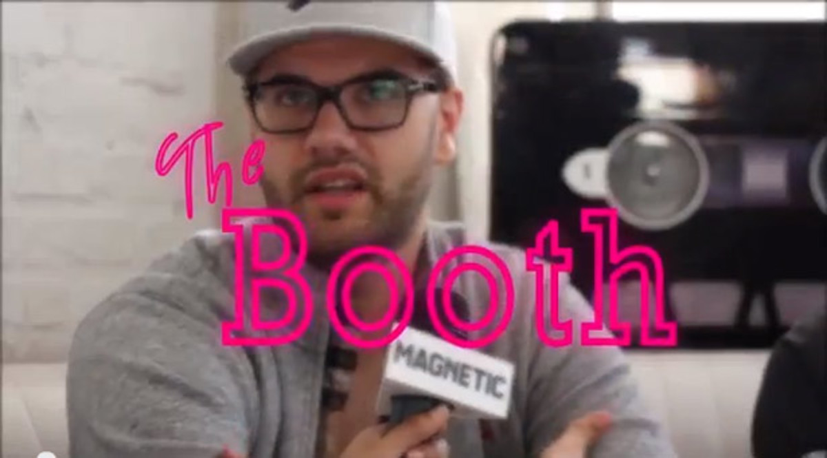 "EDM Video: Magnetic TV Presents ""The Booth"" With Cazzette Part 2"