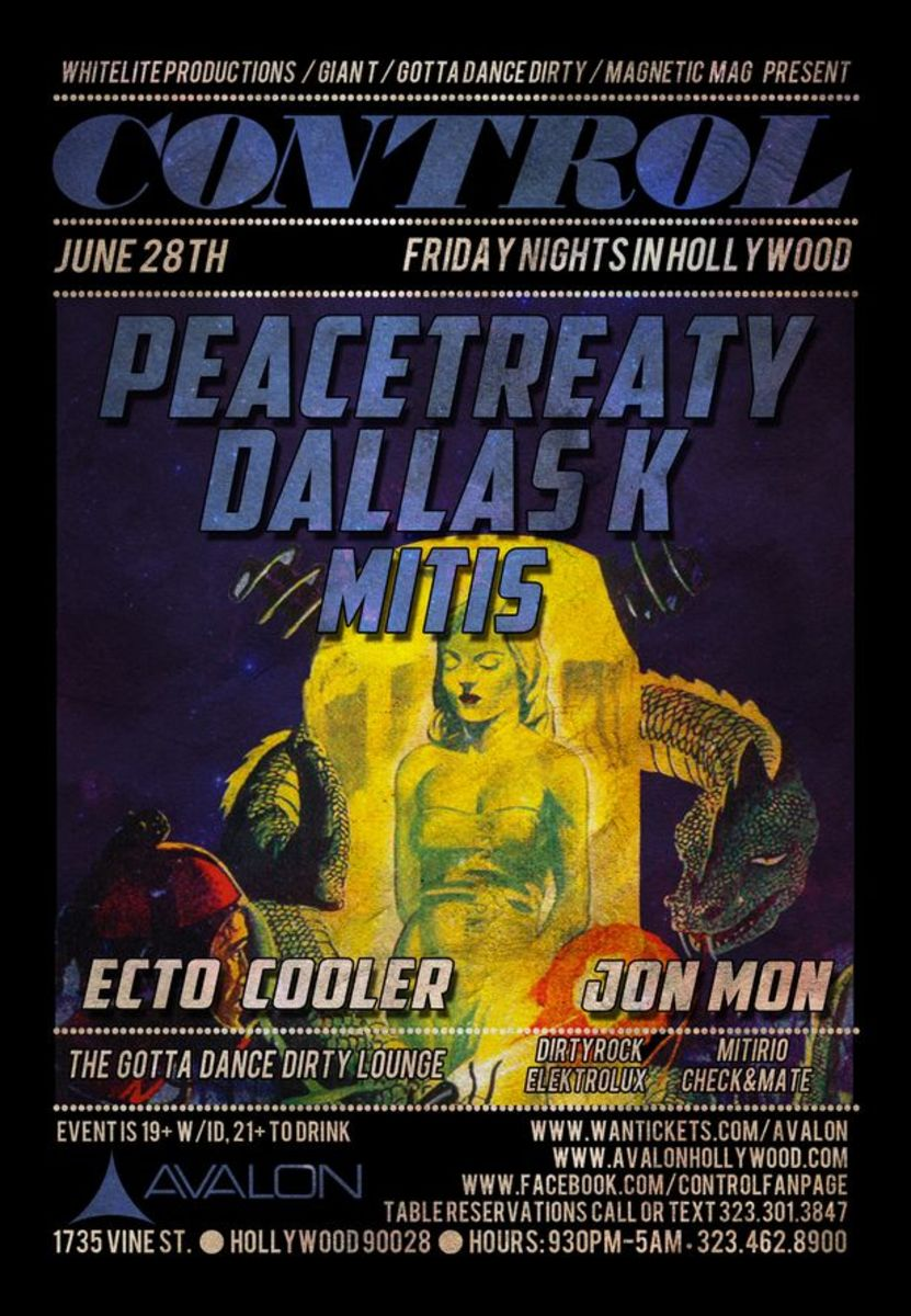 Fridays @ Avalon- 6/28 PeaceTreaty, DallaxK, MiTis Set To Play; Free PeaceTreaty Download